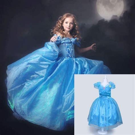 film cinderella dress details about cinderella 2015 movie gown dress kids
