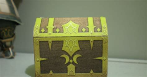 Treasure Chest Papercraft - dissidia papercraft treasure chest papercraft paradise