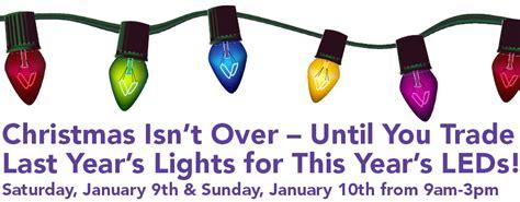 trade in christmas light for led lights christmas lights