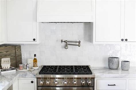 grid pattern backsplash white kitchen with white glazed grid backsplash tiles