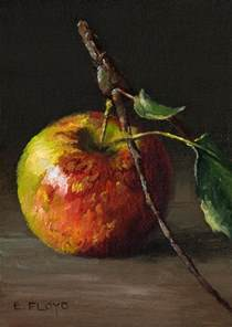 painting for mac on canvas apples and on