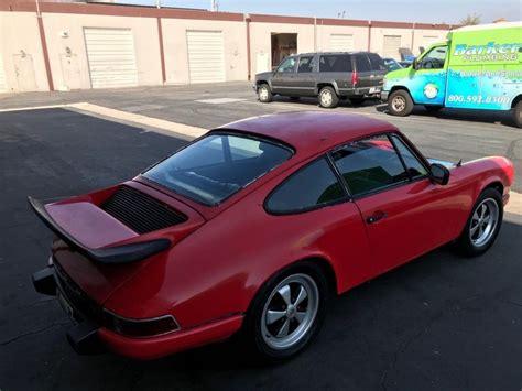 Porsche For Restoration For Sale by 1971 Porsche 911 E Great Restoration Project For Sale