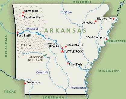 us map where is arkansas maps us map arkansas