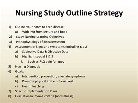 Study Strategies Outline by Test Taking Strategies 2009 Workshop Revised11 17 09