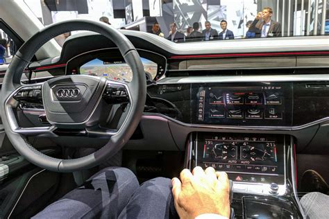 But Now audi s a8 is a declaration of war on buttons but now the