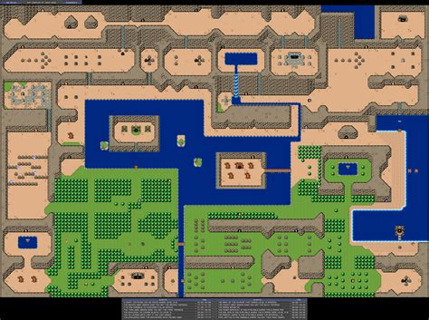legend of zelda main map zelda capital the bs zelda series general maps