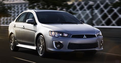 mitsubishi lancer 2017 the 2017 mitsubishi lancer is here