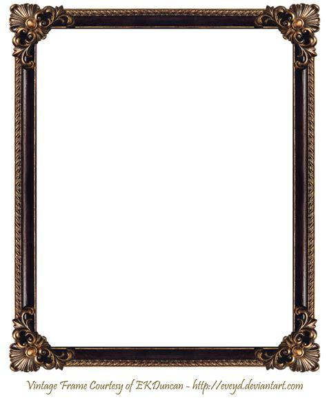 frame png elaborate wood frame 3 by ekduncan by eveyd on