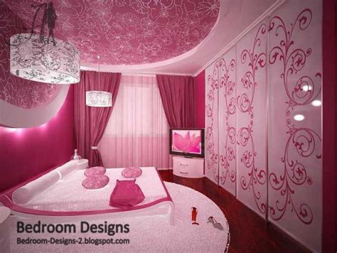 Pink Bedrooms by 5 Pink Bedroom Designs