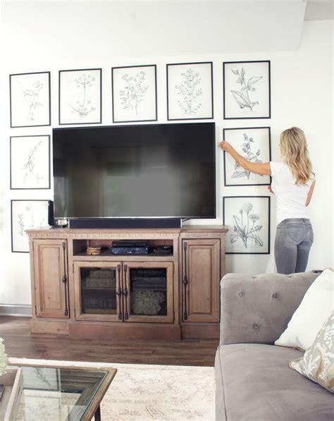 creative ways  decorate   tv tuft trim