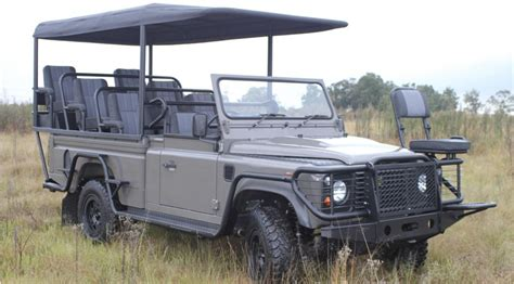 land rover safari land rover defender 2011 goes ev for safari concept by