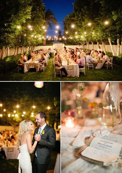 Backyard Wedding After Open House Reception After Small Ceremony How Do We Handle
