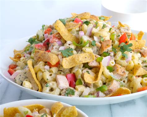 macaroni salad recipes kicked up chicken macaroni salad noble pig