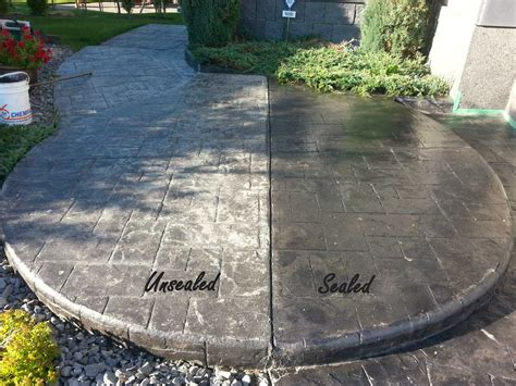 How To Seal Concrete Patio by Concrete Sealer Ak Concrete Design