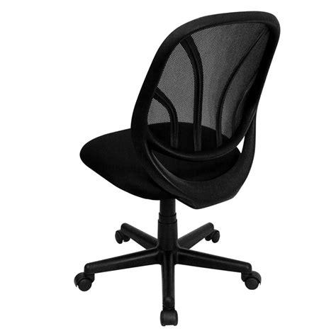 y go chair mid back black mesh swivel task chair go wy