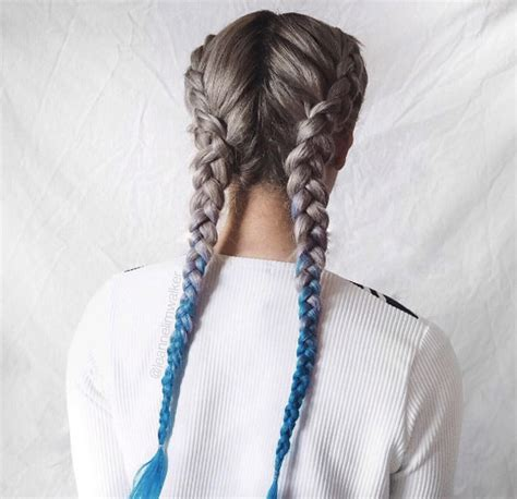 pictures of blue hair braided into brown hair 60 boxer braid hairstyles for your sporty side style skinner