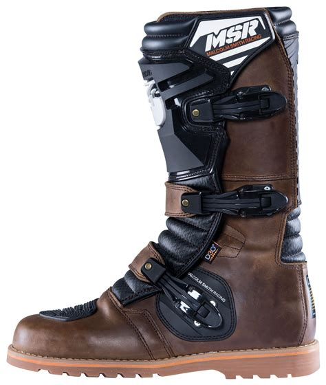 sport motorcycle boots msr dual sport boots revzilla