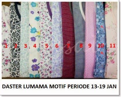 Baju Tidur Daster Lumama 2 daster lumama motif periode 13 19 jan 14 distributor baju tidur branded stock lot