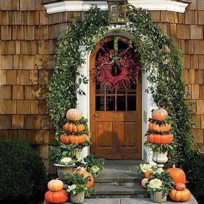 topiaries for front door pumpkin topiary front door autumn aesthetics