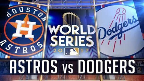 astros tie  world series    win  dodgers  game