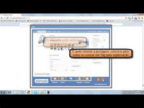 tutorial edmodo em portugues tutorial edmodo em portugu 234 s youtube