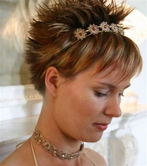 hair styles of head all spiked short spikey hairstyles for women