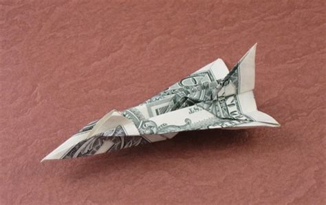 F 16 Origami - paper airplanes with dollar bills by duy nguyen book