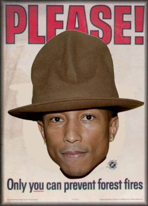 Pharrell Meme - pharrell williams hat at the grammys is now a twitter meme