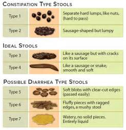 types of stools constipation pictures to pin on
