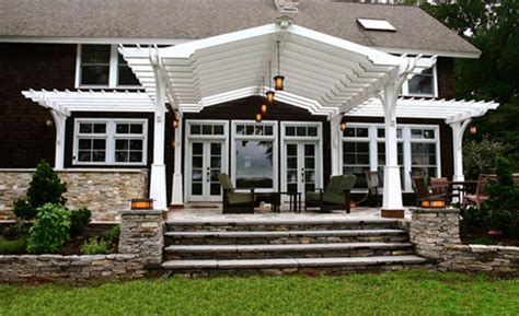 Craftsman Style Pergola by Craftsman Style Pergola With Shade Cloth No Sp9 By