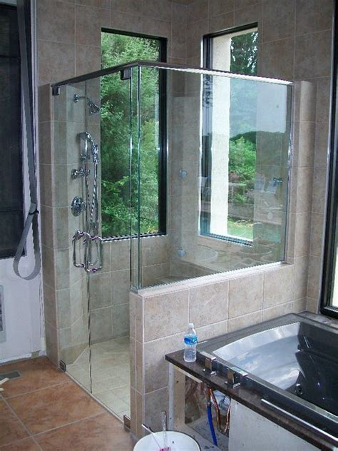 Showers For Small Bathroom Ideas by Glass Shower Enclosuser Shower Doors Richmond Va