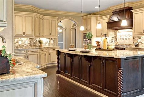 kitchens with colored cabinets high quality cream colored kitchen cabinets 6 traditional