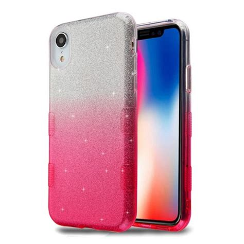 tuff full glitter hybrid protective case  iphone xr