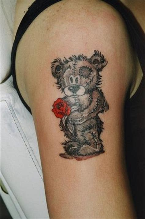 Teddy Bear Tattoos Ee Designs Ee Ideas And Meaning Tattoos