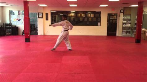 youtube taekwondo pattern 2 tae geuk 2 ee jhang 태극 2장 orange belt wtf