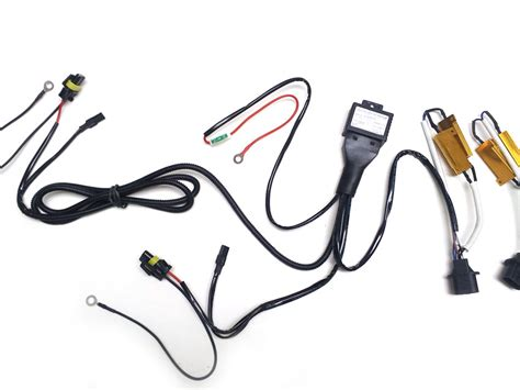 hid relay with resistor h13 9008 resistor bi xenon hid relay harness copy