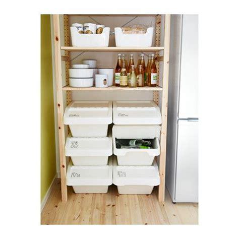 kitchen organization ikea functional storage for lids sortera recycling bin with lid 10 gallon ikea