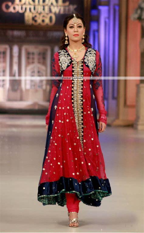 pakistani anarkali dresses latest collection 2013 trendy latest formal collection 2013 red anarkali pishwas