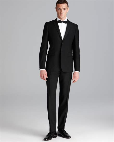 contemporary suits burberry milbury tuxedo suit in contemporary fit in