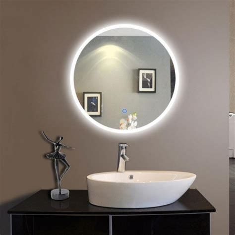 round led bathroom mirror those popular led mirrors you just can t miss
