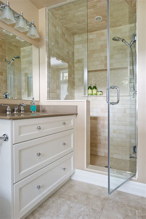 shower stall tile ideas bathroom traditional with bathroom