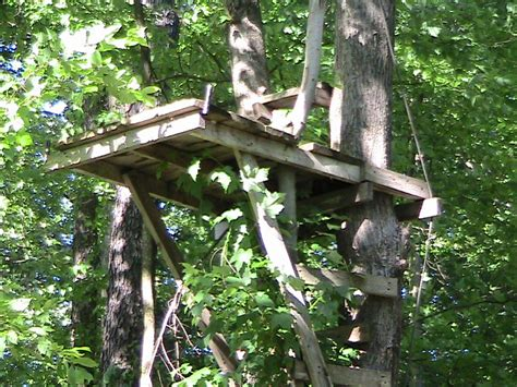 wooden tree stand plans  woodworking