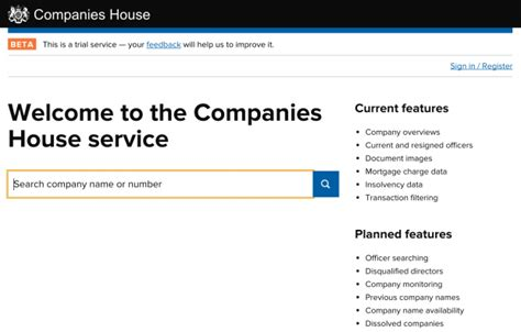 uk companies house congratulations companies house government digital service