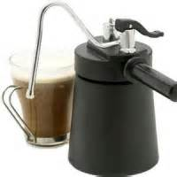 Stove Top Milk Steamer Home Barista