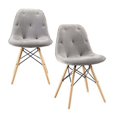 eames style dining chair walker edison furniture company eames style grey dining