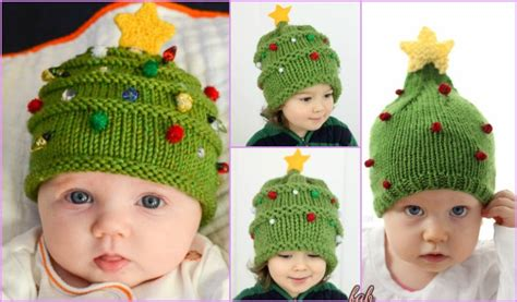 free knitting pattern baby christmas tree hat knit christmas tree hat free patterns