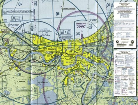 New York Sectional Chart by Aeronautical Charts
