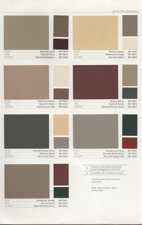 paint colour schemes historic paint colors pt 2 como bungalow
