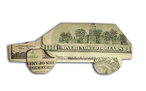 Money Origami Car - 10 ways to make more money selling used cars autoevolution