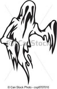 vector clipart of ghost halloween set vector